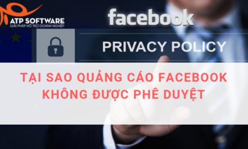 Cách khắc phục tình trạng Facebook không phê duyệt bài quảng cáo